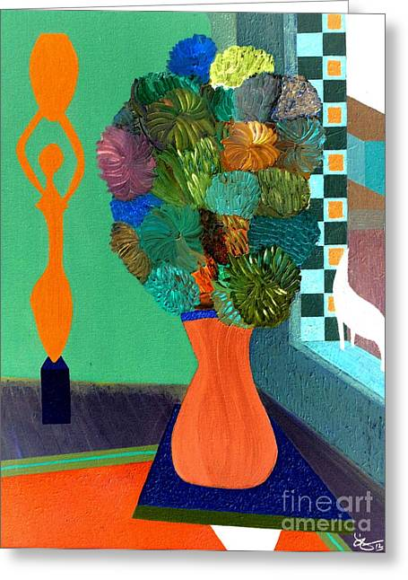 What Matisse Wanted Greeting Card by Bill OConnor