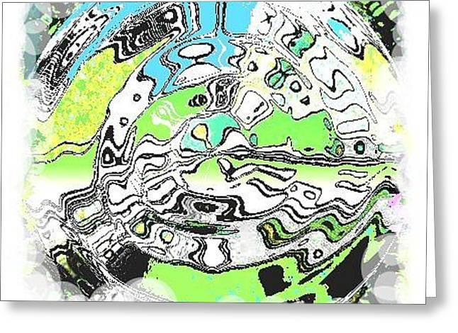 Wheel 2 Greeting Card by Carol Rowland