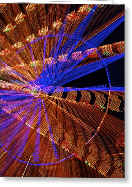 Wheel Of Light Greeting Card