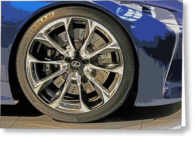 Wheel Of The Future Greeting Card by Tom Gari Gallery-Three-Photography
