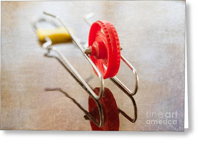 Wheelo Greeting Card by Kay Pickens