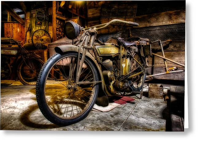 Wheels Through Time 7 Greeting Card