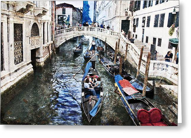 When I Last Saw Venice Greeting Card