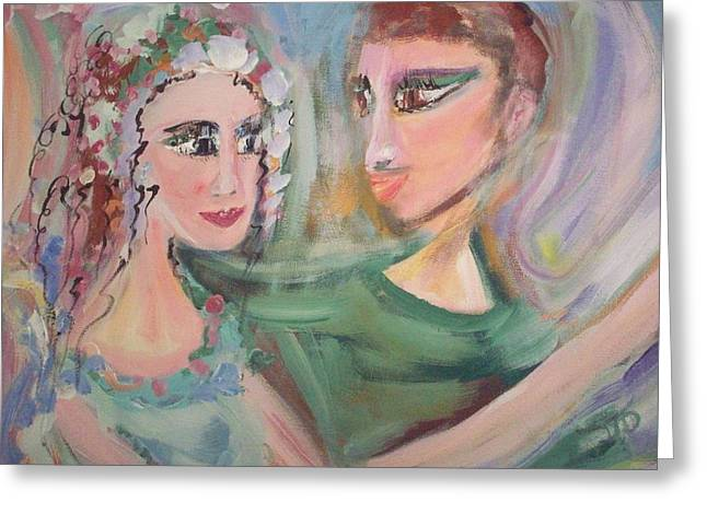 When Im Close To You Greeting Card by Judith Desrosiers