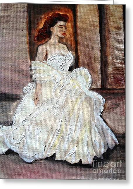 When Lovely Women II Greeting Card by Helena Bebirian