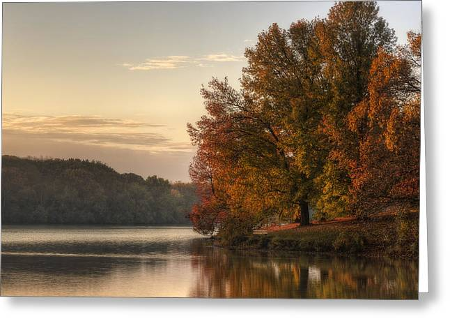 When Morning Arrives Greeting Card by Jeff Burton