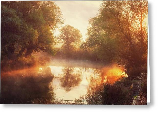 When Nature Paints With Light II Greeting Card