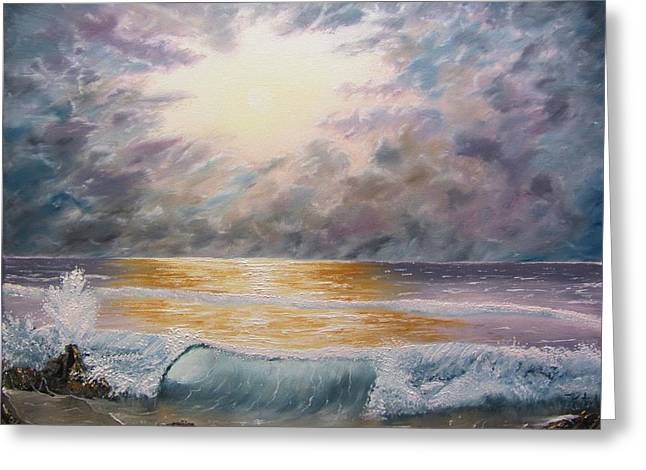 When Oceans Rise Greeting Card