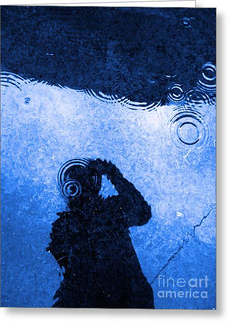 When The Rain Comes Greeting Card