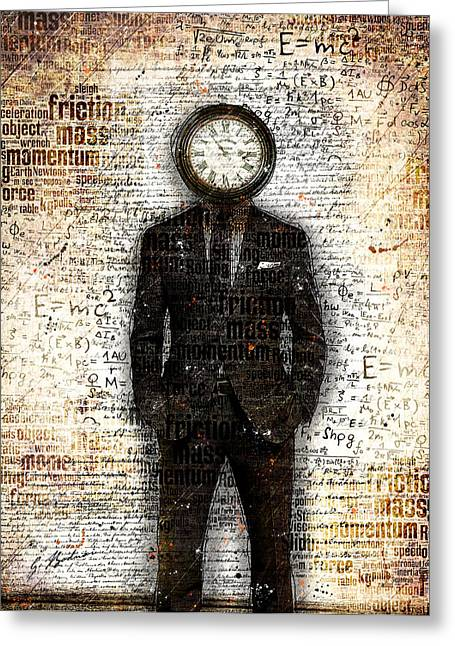 Time Standing Still Greeting Card by Gary Bodnar