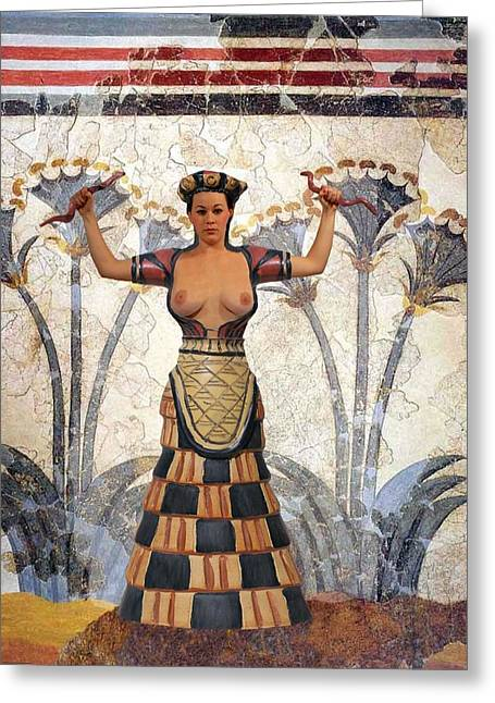 When Women Ruled Greeting Card