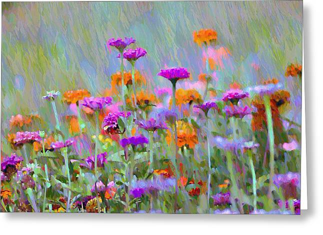 Where Have All The Flowers Gone Greeting Card by Bill Cannon