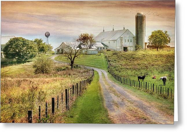 Where Life Is Found Greeting Card by Lori Deiter