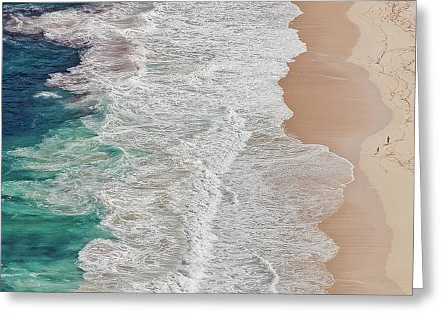 Where The Ocean Ends... Greeting Card
