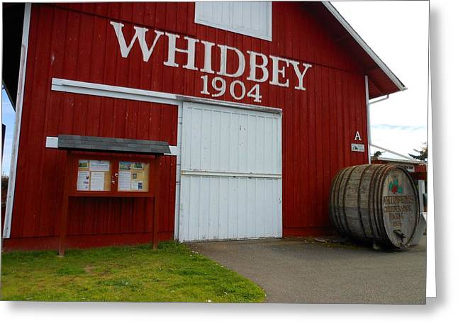 Whidbey's Greenbank Farm Greeting Card by Kay Gilley