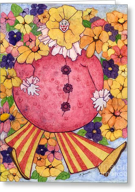 Whimsy On Parade  Greeting Card