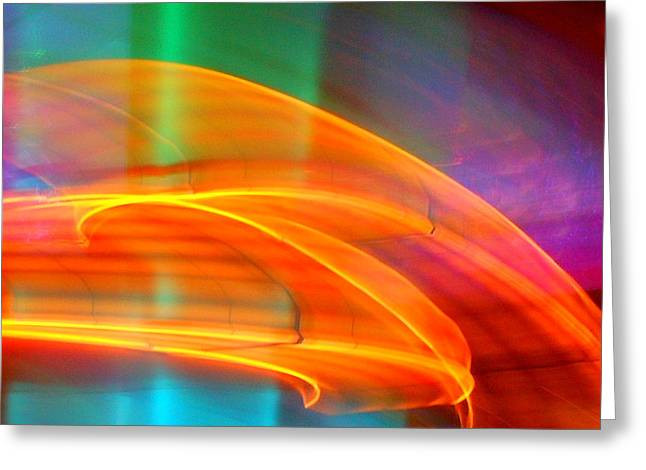 Whirlwind On Venus Greeting Card by James Welch