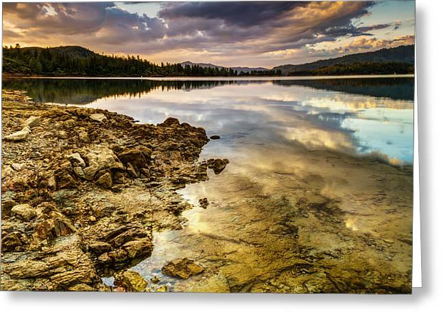 Greeting Card featuring the photograph Whiskeytown Lake Reflections by Randy Wood