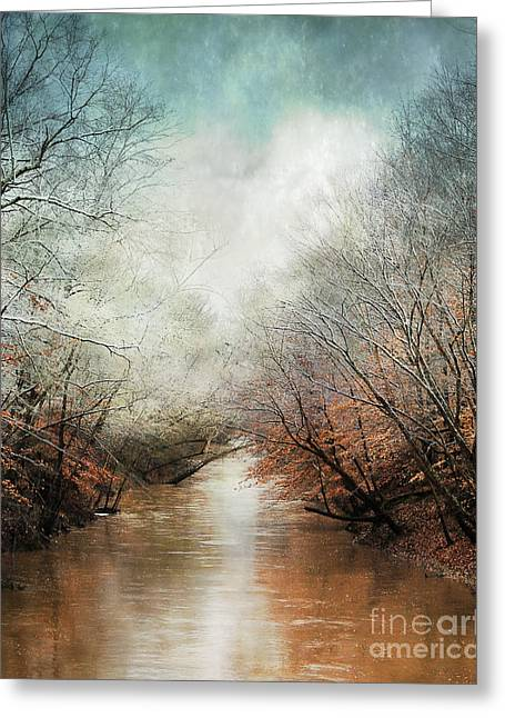 Whisper Of Winter Greeting Card by Jai Johnson