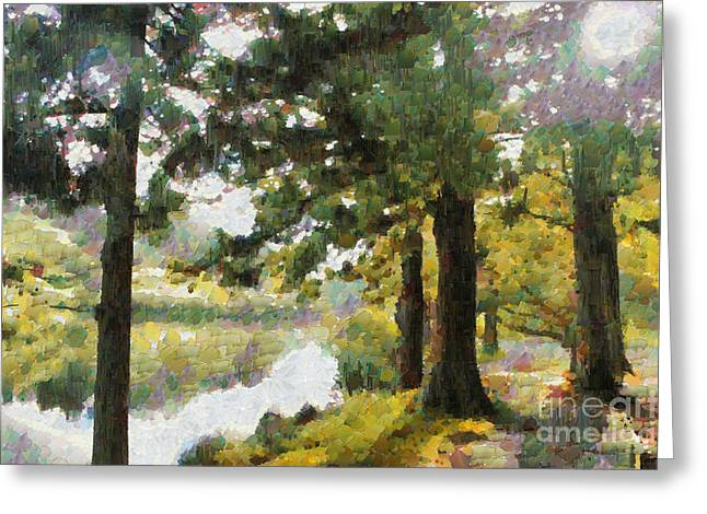Whisper Through The Trees Greeting Card