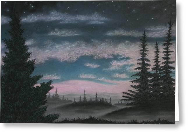 Whispering Pines 02 Greeting Card