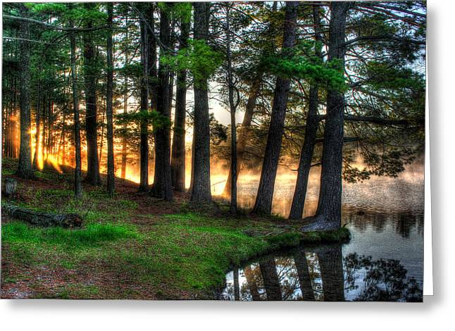Whispering Pines 2 Greeting Card
