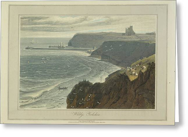 Whitby Greeting Card by British Library