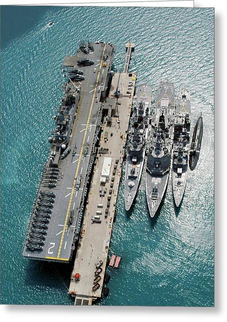 White Beach Naval Facility Greeting Card