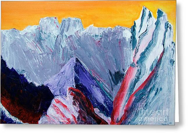 White Canyon Greeting Card