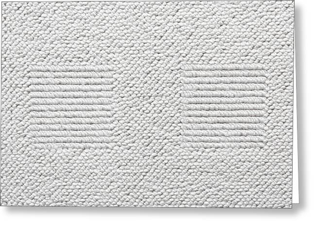 White Carpet Greeting Card by Tom Gowanlock