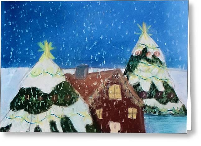 Christmasland Greeting Card