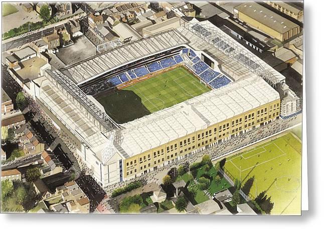 White Hart Lane - Tottenham Hotspur Fc Greeting Card