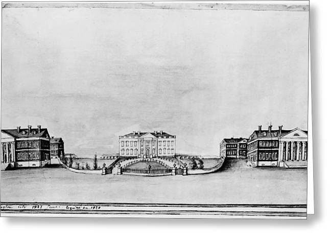 White House, 1821 Greeting Card by Granger