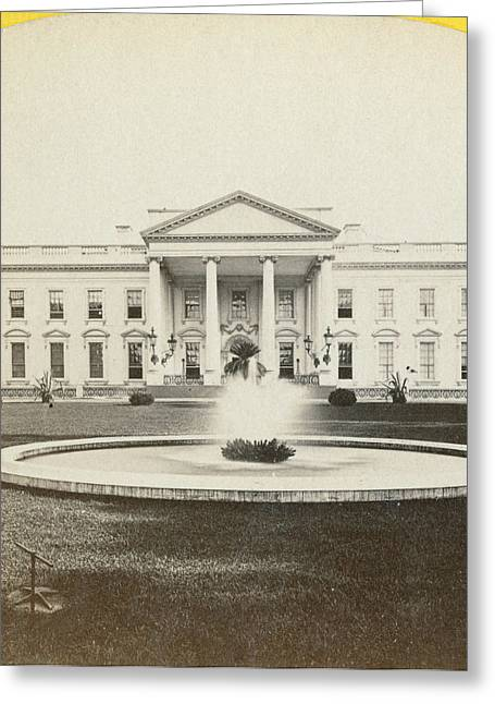White House, C1882 Greeting Card by Granger