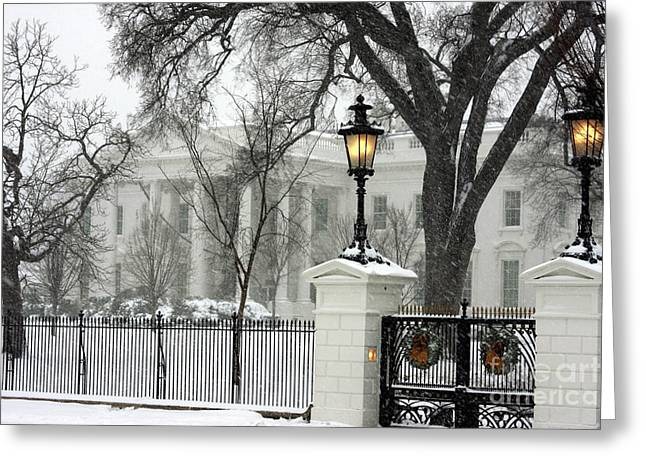 White House Christmas Greeting Card