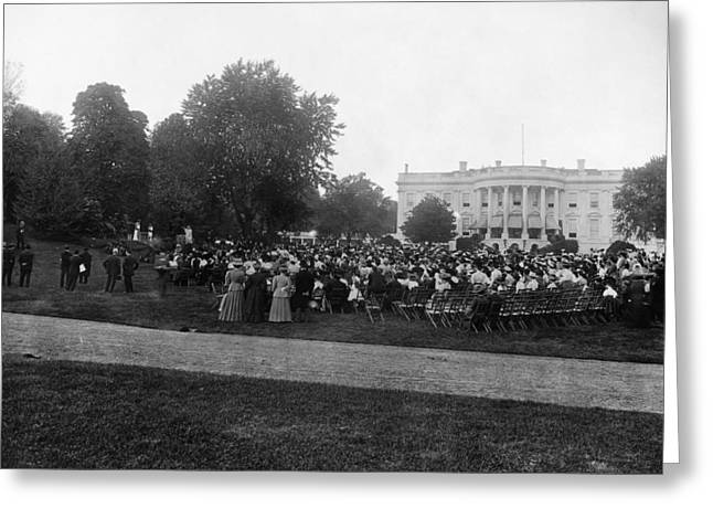 White House Play, 1908 Greeting Card by Granger