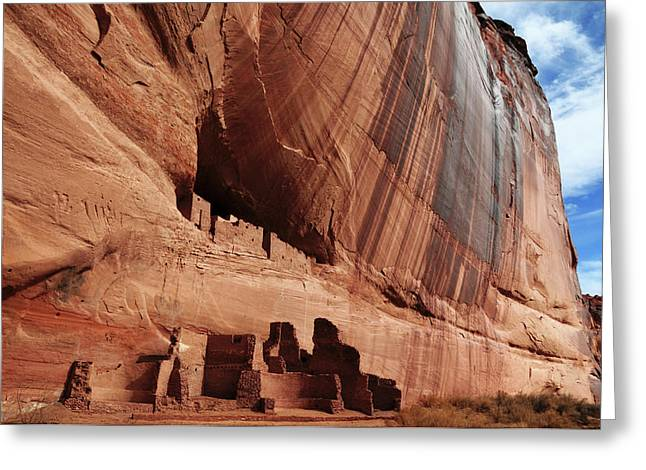 White House Ruin, Canyon De Chelly Greeting Card by Michel Hersen
