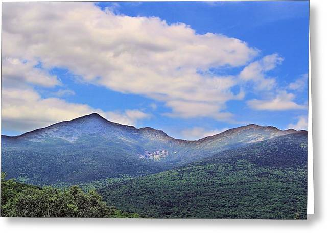 White Mountains Greeting Card by Andrea Galiffi