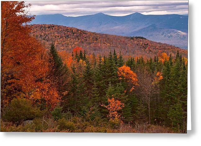 White Mountains Drama Greeting Card
