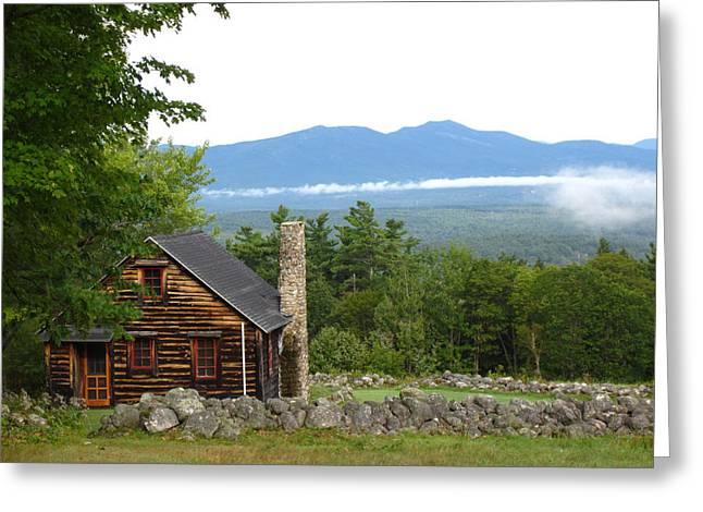 White Mountains Nh Greeting Card