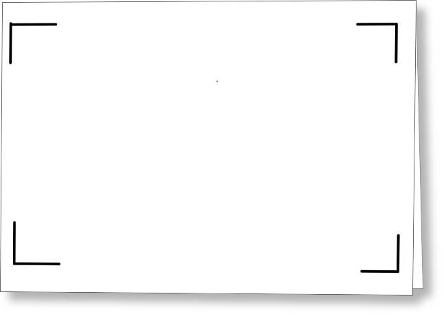 White Painting  Conceptual Greeting Card by Jack Mackay