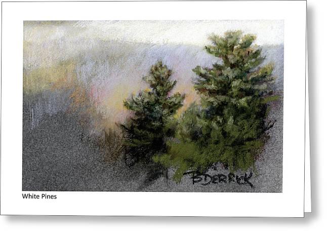 White Pines Greeting Card