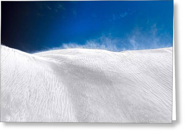 White Sands Desert Greeting Card by Julian Cook