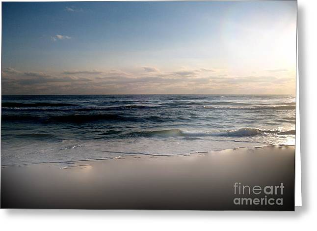 White Sands Greeting Card by Jeffery Fagan