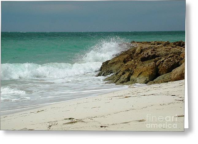 Greeting Card featuring the photograph White Sands by Judy Palkimas