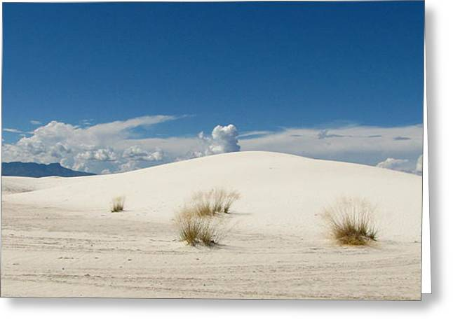 White Sands Landscape Greeting Card by Marilyn Smith