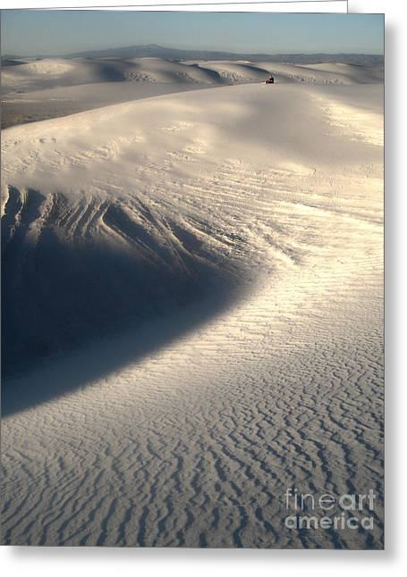 White Sands New Mexico Sand Dunes Greeting Card by Gregory Dyer
