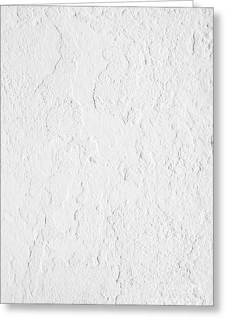 White Stucco Greeting Card