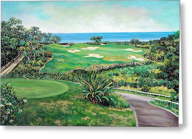 White Witch Golf Course #1 Hole #17 Greeting Card