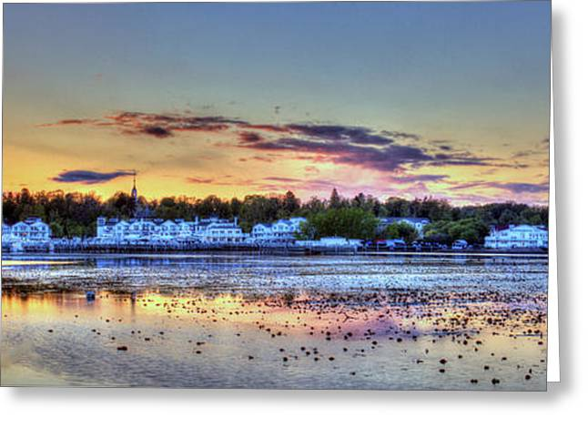 Whitehall At Sunset Greeting Card by Twenty Two North Photography